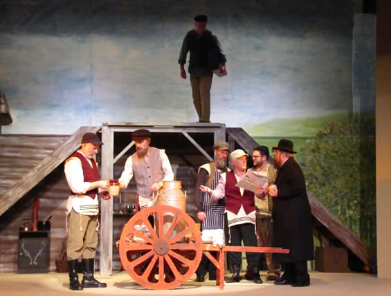 Tevye, Perchik & men